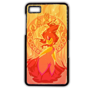 Adventure Time Characters Flame Princess Cartoon TATUM-325 Blackberry Phonecase Cover For Blackberry Q10, Blackberry Z10 - tatumcase