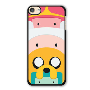 Adventure Time Cute Characters Phonecase Cover Case For Apple Ipod 4 Ipod 5 Ipod 6 - tatumcase