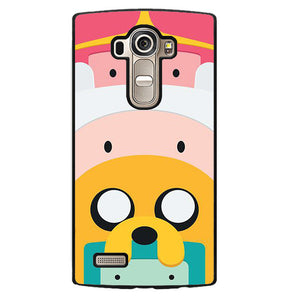 Adventure Time Cute Characters Phonecase Cover Case For LG G3 LG G4 - tatumcase
