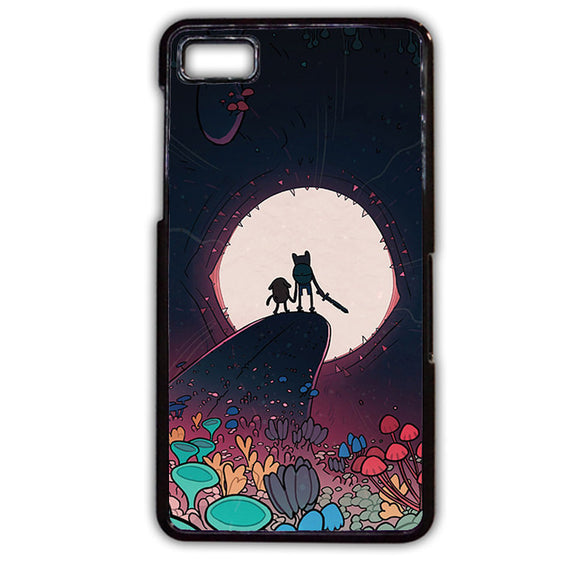 Adventure Time Finn And Jack Phonecase Cover Case For Blackberry Q10 Blackberry Z10 - tatumcase