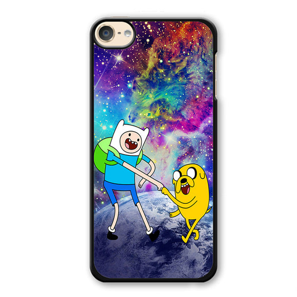 Adventure Time Jake And Finn Nebula Space Phonecase Cover Case For Apple Ipod 4 Ipod 5 Ipod 6 - tatumcase