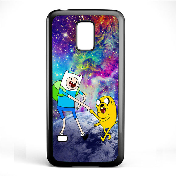 Adventure Time Jake And Finn Nebula Space Phonecase Cover Case For Samsung Galaxy S3 Mini Galaxy S4 Mini Galaxy S5 Mini - tatumcase