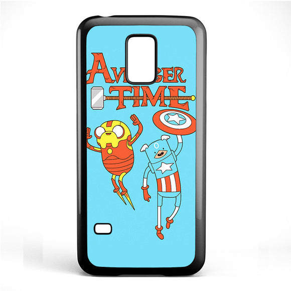 Adventure Time The Avenger Captain America And Ironman Phonecase Cover Case For Samsung Galaxy S3 Mini Galaxy S4 Mini Galaxy S5 Mini - tatumcase