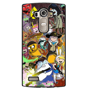 Adventure Time The Walking Dead Phonecase Cover Case For LG G3 LG G4 - tatumcase