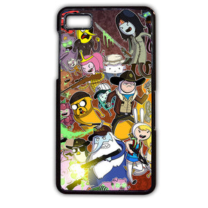 Adventure Time The Walking Dead Phonecase Cover Case For Blackberry Q10 Blackberry Z10 - tatumcase