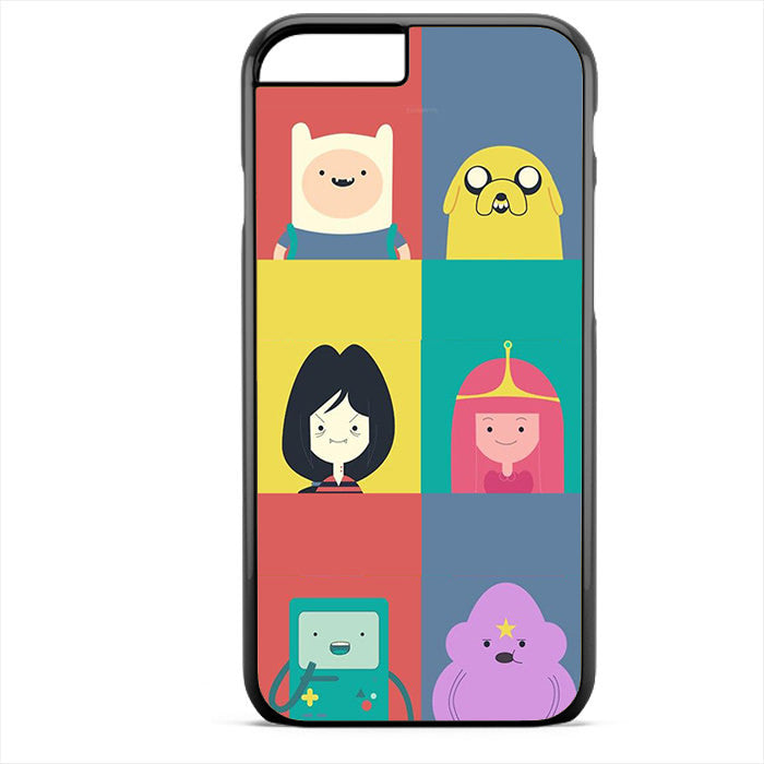 Adventure Time Cute Phonecase For Iphone 4/4S Iphone 5/5S Iphone 5C Iphone 6 Iphone 6S Iphone 6 Plus Iphone 6S Plus