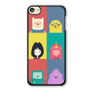 Adventure Time Cute Phonecase Cover Case For Apple Ipod 4 Ipod 5 Ipod 6 - tatumcase
