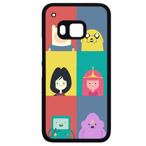 Adventure Time CutePhonecase Cover Case For HTC One M7 HTC One M8 HTC One M9 HTC ONe X - tatumcase