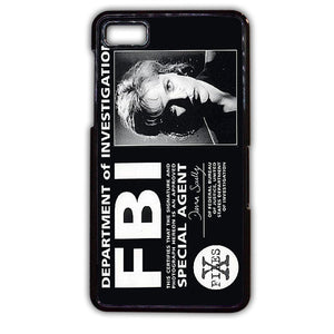 Agent Dana Scully Fbi TATUM-387 Blackberry Phonecase Cover For Blackberry Q10, Blackberry Z10 - tatumcase
