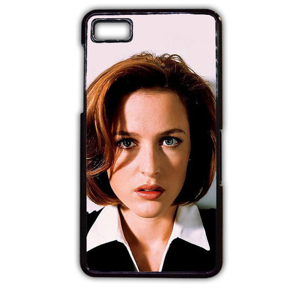 Agent Dana Scully TATUM-377 Blackberry Phonecase Cover For Blackberry Q10, Blackberry Z10 - tatumcase