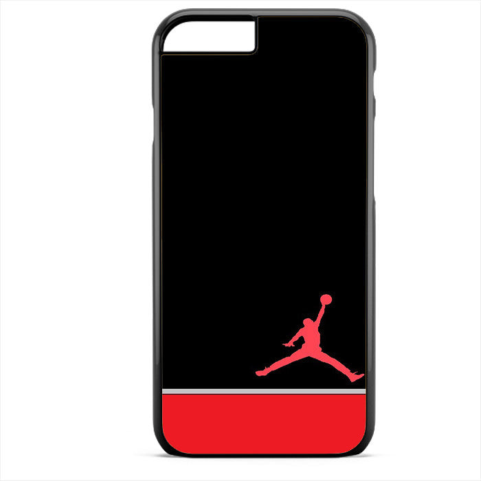 Air Jordan Red White Phonecase For Iphone 4/4S Iphone 5/5S Iphone 5C Iphone 6 Iphone 6S Iphone 6 Plus Iphone 6S Plus