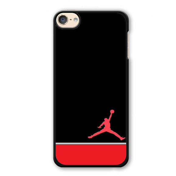 Air Jordan Red White Phonecase Cover Case For Apple Ipod 4 Ipod 5 Ipod 6 - tatumcase