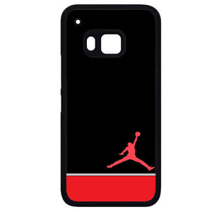 Air Jordan Red WhitePhonecase Cover Case For HTC One M7 HTC One M8 HTC One M9 HTC ONe X - tatumcase