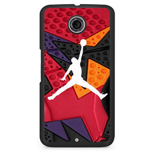 Air Jordan Retro Raptors Phonecase Cover Case For Google Nexus 4 Nexus 5 Nexus 6 - tatumcase