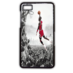 Airwalk Slam Dunk Michael Jordan TATUM-428 Blackberry Phonecase Cover For Blackberry Q10, Blackberry Z10 - tatumcase