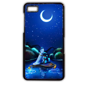 Aladin And Jasmine Romantic Half Moon TATUM-445 Blackberry Phonecase Cover For Blackberry Q10, Blackberry Z10 - tatumcase