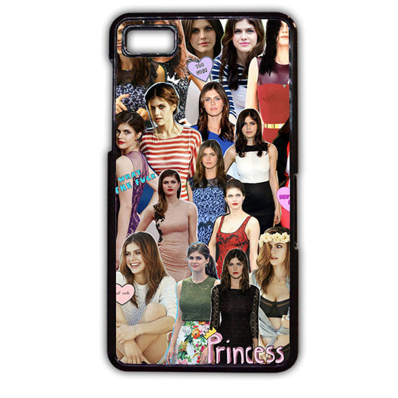 Alexandra Daddario Collage TATUM-463 Blackberry Phonecase Cover For Blackberry Q10, Blackberry Z10 - tatumcase