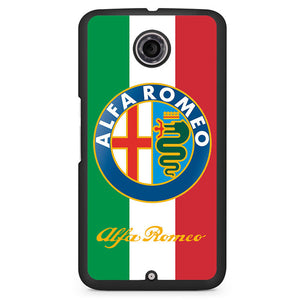 Alfa Romeo Italy Phonecase Cover Case For Google Nexus 4 Nexus 5 Nexus 6 - tatumcase