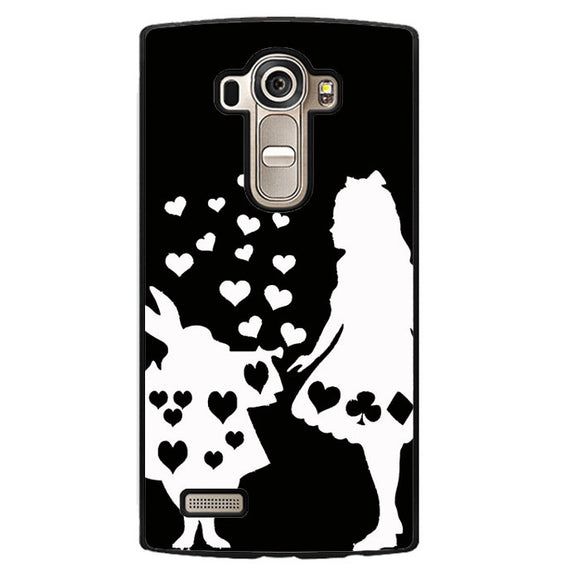 Alice And Mr Rabbit Phonecase Cover Case For LG G3 LG G4 - tatumcase