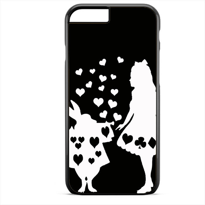 Alice And Mr Rabbit Phonecase For Iphone 4/4S Iphone 5/5S Iphone 5C Iphone 6 Iphone 6S Iphone 6 Plus Iphone 6S Plus