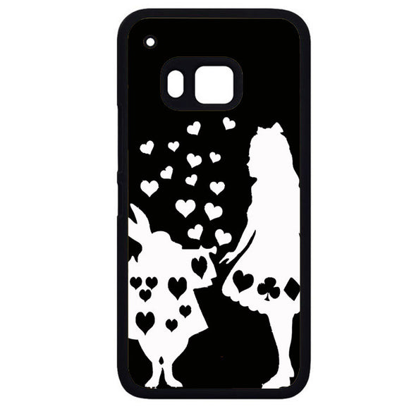 Alice And Mr RabbitPhonecase Cover Case For HTC One M7 HTC One M8 HTC One M9 HTC ONe X - tatumcase