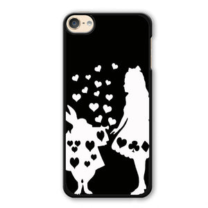 Alice And Mr Rabbit Phonecase Cover Case For Apple Ipod 4 Ipod 5 Ipod 6 - tatumcase