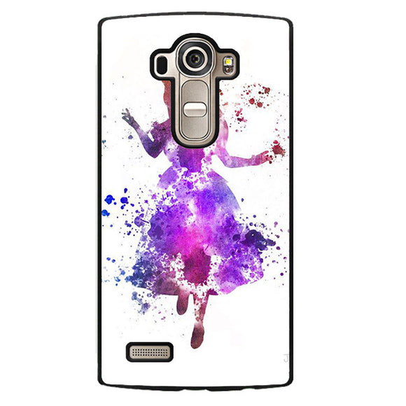Alice Colourful Phonecase Cover Case For LG G3 LG G4 - tatumcase