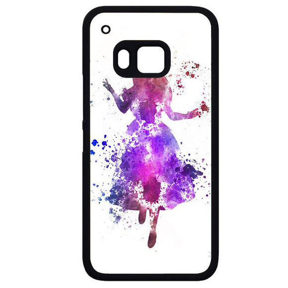 Alice ColourfulPhonecase Cover Case For HTC One M7 HTC One M8 HTC One M9 HTC ONe X - tatumcase