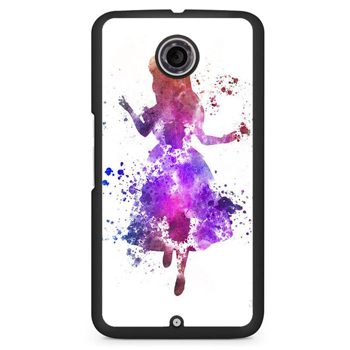 Alice Colourful Phonecase Cover Case For Google Nexus 4 Nexus 5 Nexus 6 - tatumcase