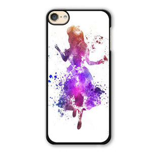 Alice Colourful Phonecase Cover Case For Apple Ipod 4 Ipod 5 Ipod 6 - tatumcase