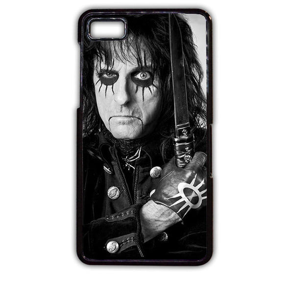 Alice Cooper Handing Knife TATUM-494 Blackberry Phonecase Cover For Blackberry Q10, Blackberry Z10