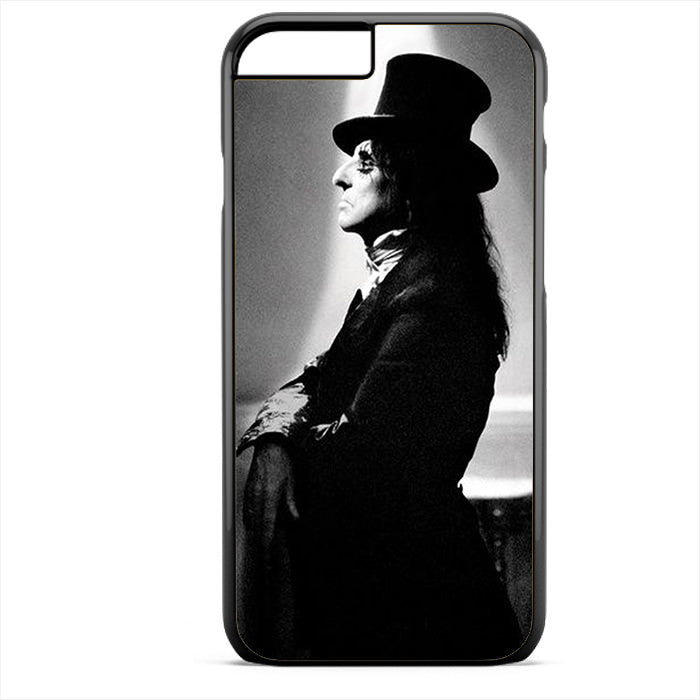 Alice Cooper With Magician Hat Phonecase For Iphone 4/4S Iphone 5/5S Iphone 5C Iphone 6 Iphone 6S Iphone 6 Plus Iphone 6S Plus