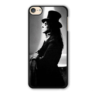 Alice Cooper With Magician Hat Phonecase Cover Case For Apple Ipod 4 Ipod 5 Ipod 6 - tatumcase