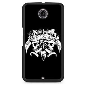 Alice In Chains Phonecase Cover Case For Google Nexus 4 Nexus 5 Nexus 6 - tatumcase