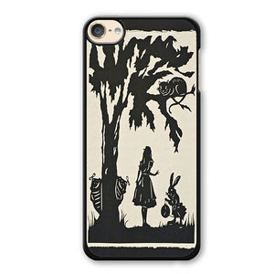 Alice In Wonderland Nightmare Phonecase Cover Case For Apple Ipod 4 Ipod 5 Ipod 6 - tatumcase