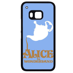 Alice In Wonderland Tea CupPhonecase Cover Case For HTC One M7 HTC One M8 HTC One M9 HTC ONe X - tatumcase