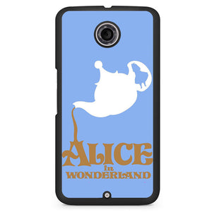 Alice In Wonderland Tea Cup Phonecase Cover Case For Google Nexus 4 Nexus 5 Nexus 6 - tatumcase