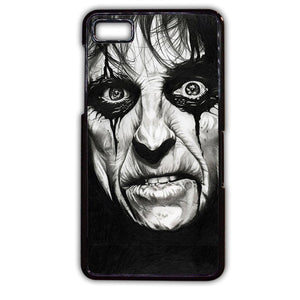 Alice Cooper Face TATUM-493 Blackberry Phonecase Cover For Blackberry Q10, Blackberry Z10