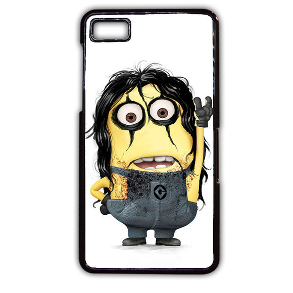 Alice Cooper Minion Phonecase Cover Case For Blackberry Q10 Blackberry Z10