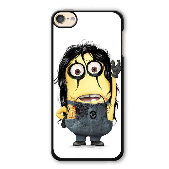 Alice Cooper Minion Phonecase Cover Case For Apple Ipod 4 Ipod 5 Ipod 6