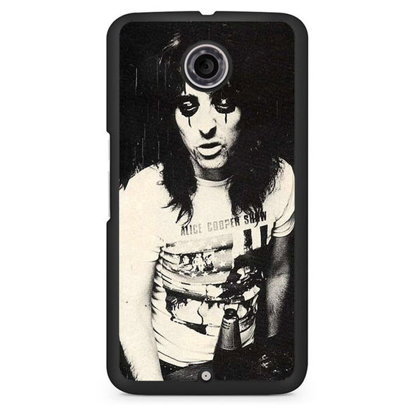 Alice Cooper Young Phonecase Cover Case For Google Nexus 4 Nexus 5 Nexus 6 - tatumcase