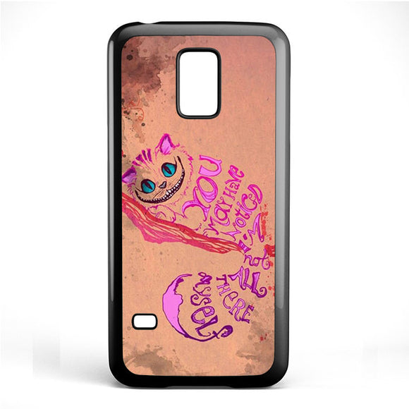 Alice In Wonderland Girls Animal Pink Phonecase Cover Case For Samsung Galaxy S3 Mini Galaxy S4 Mini Galaxy S5 Mini - tatumcase