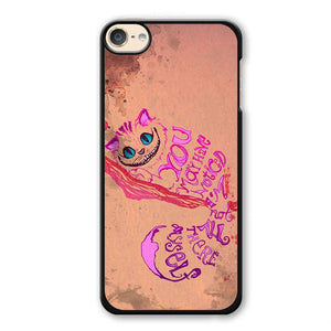 Alice In Wonderland Girls Animal Pink Phonecase Cover Case For Apple Ipod 4 Ipod 5 Ipod 6 - tatumcase