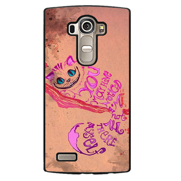 Alice In Wonderland Girls Animal Pink Phonecase Cover Case For LG G3 LG G4 - tatumcase