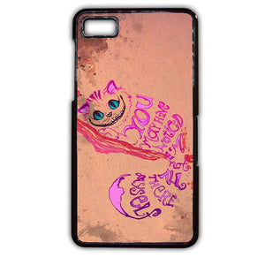 Alice In Wonderland Girls Animal Pink Phonecase Cover Case For Blackberry Q10 Blackberry Z10 - tatumcase