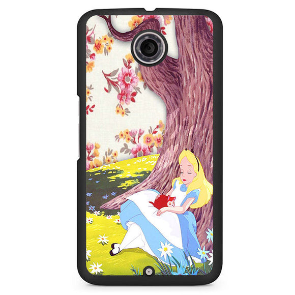 Alice In Wonderland Cool Phonecase Cover Case For Google Nexus 4 Nexus 5 Nexus 6 - tatumcase