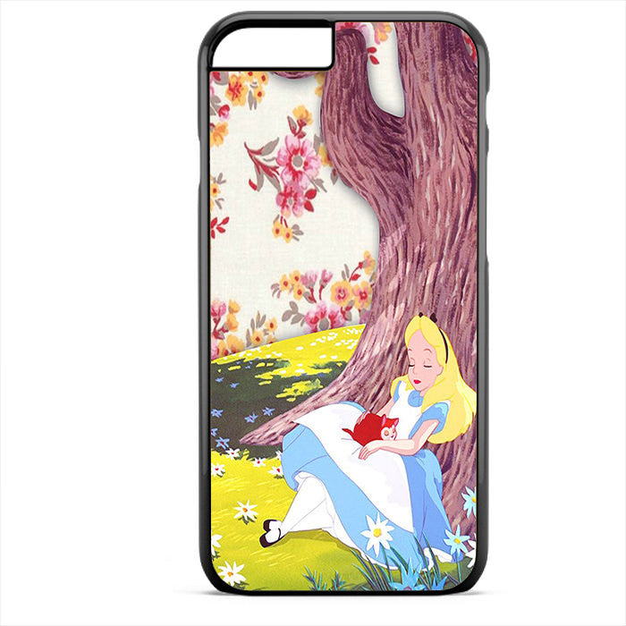 Alice In Wonderland Cool Phonecase For Iphone 4/4S Iphone 5/5S Iphone 5C Iphone 6 Iphone 6S Iphone 6 Plus Iphone 6S Plus