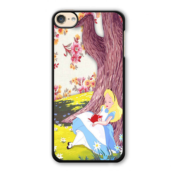 Alice In Wonderland Cool Phonecase Cover Case For Apple Ipod 4 Ipod 5 Ipod 6 - tatumcase