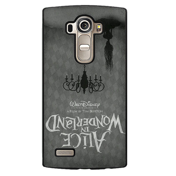 Alice In Wonderland In Poster Movie Phonecase Cover Case For LG G3 LG G4 - tatumcase