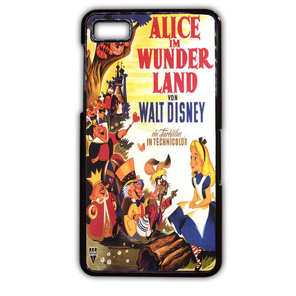 Alice Im Wunderland Poster TATUM-501 Blackberry Phonecase Cover For Blackberry Q10, Blackberry Z10 - tatumcase